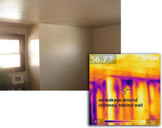 Efficiency issue shown in IR image